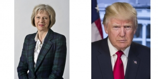 Theresa May | Donald Trump