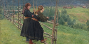 "Erik Werenskiold ""September"" (1883)"